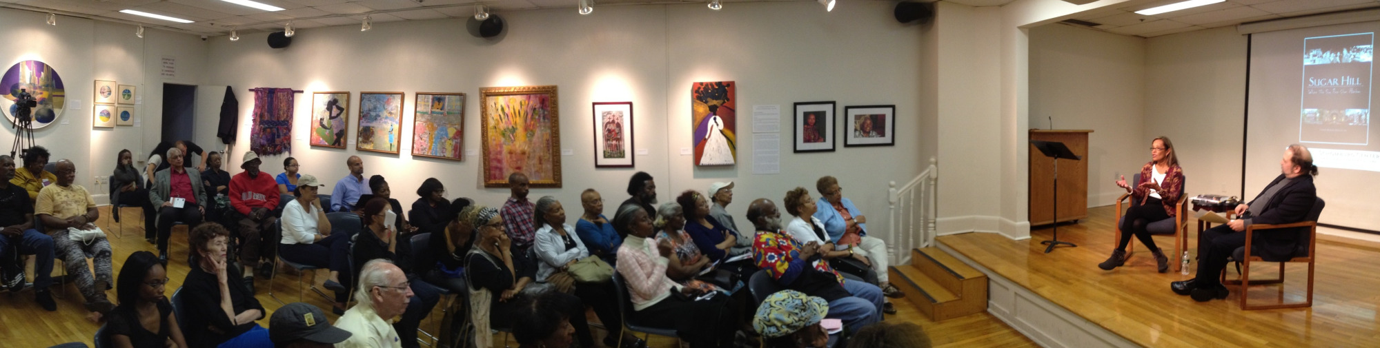"""In NY, on 9/26/12, at the Schomburg Center's """"Before Five"""" Speaker Series"""