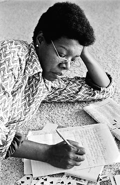 Maya Angelou's life - a story waiting to happen.