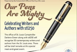 Honored to be 1 of 50 Modern St. Louis Authors to be Recognized at Missouri History Museum Event