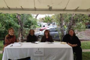 """""""Lit in the Lou,"""" St Louis Literary Festival, October 10-12, 2014"""