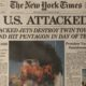 The NY Times Headline on September 12, 2001